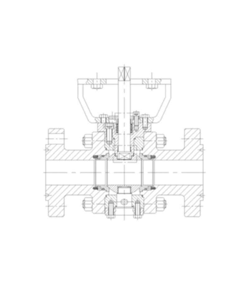 SN53/54系列硬密封O型球阀