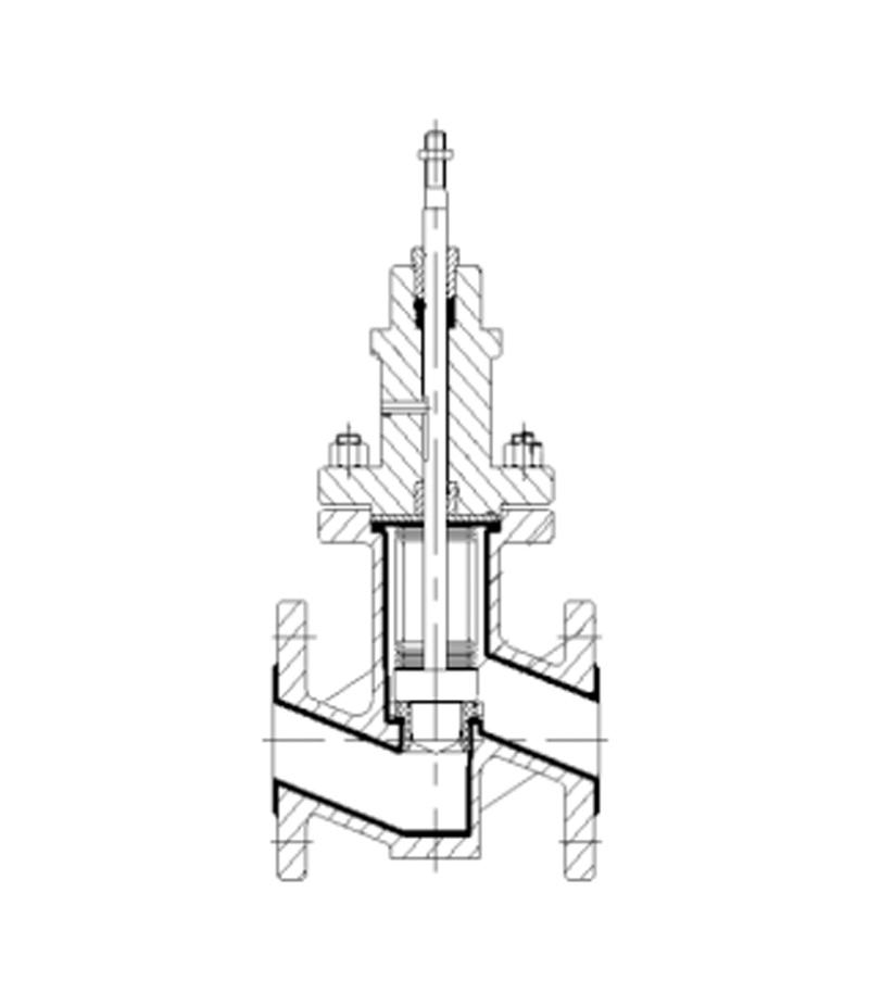 LN6131F衬塑单座控制阀