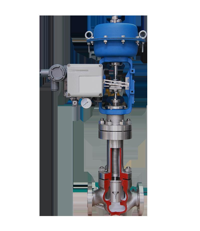 LN83W系列波纹管调节阀
